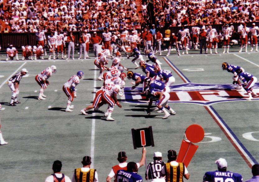 1987-NFC-AFC-NFL-Pro-Bowl-Hawaii-American-Football
