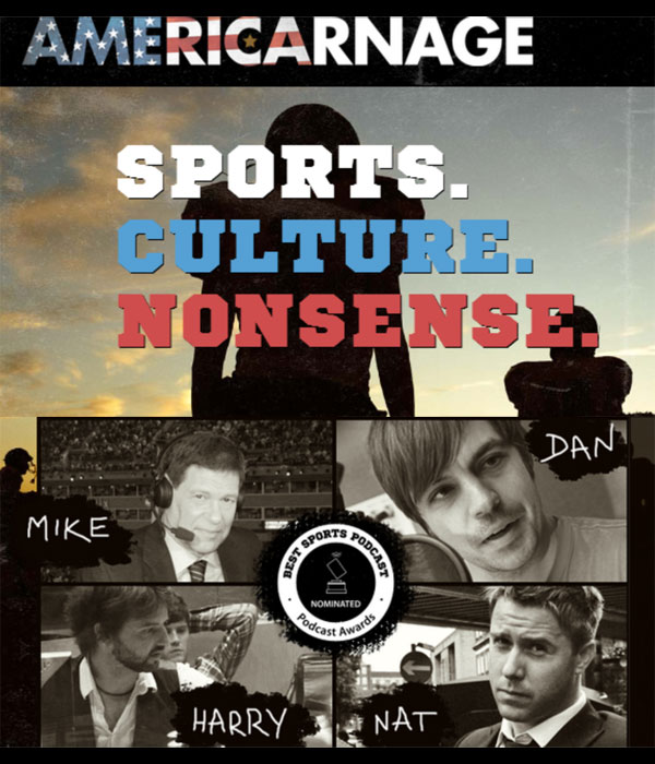 Americarnage Podcast - Jarmageddon meets Iron Mike Carlson & Hollywood Dan Louw