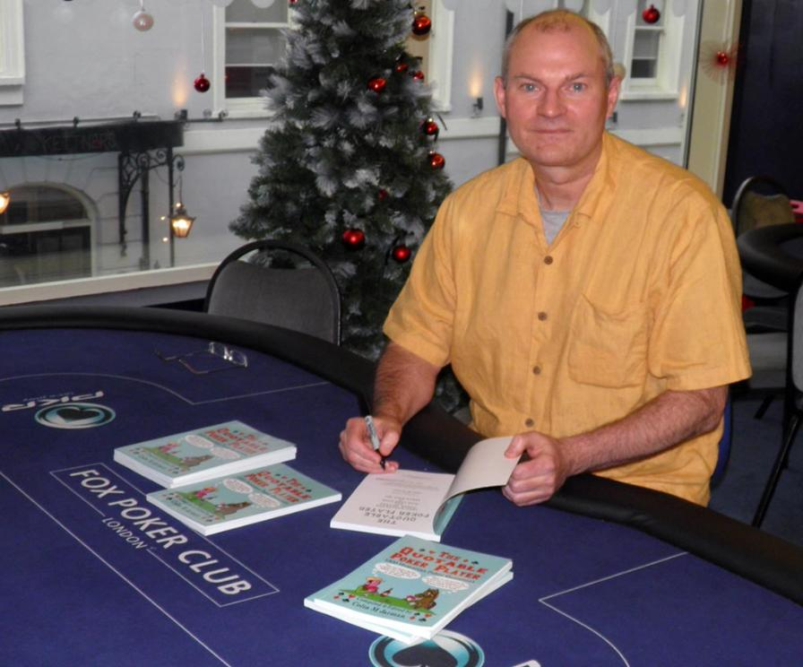Colin Jarman Poker Quotes book signing