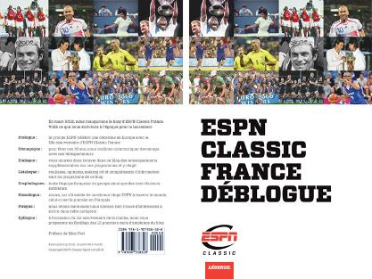 ESPN Classic France Blog Book Cover