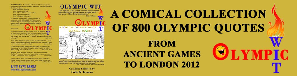 Olympic Wit quotes book by Colin M Jarman