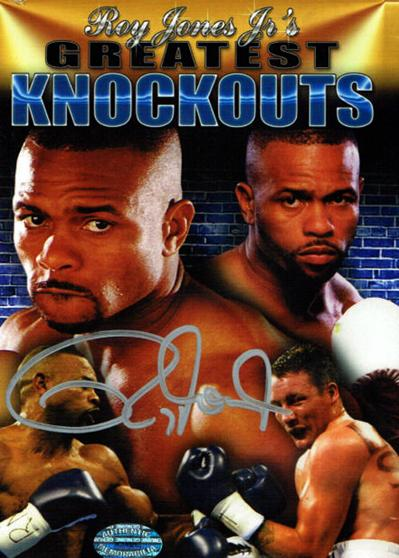 Greatest Knockouts DVD SIGNED by Roy Jones Jnr