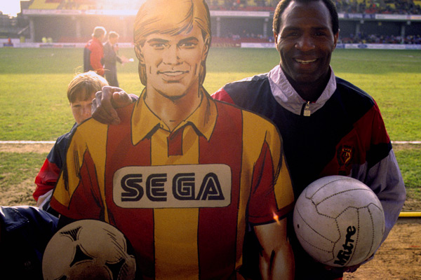 Roy Race meets Luther Blissett - Roy of the Rovers