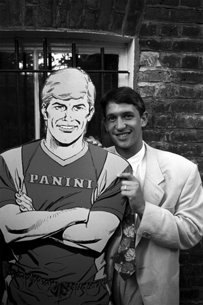 Roy Race and Gary Lineker - Roy of the Rovers