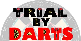 trial by darts tv skills test challenge game show logo